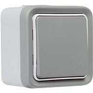 Legrand Plexo With Netatmo Bezdrátový Spínač IP55 Šedý - Vypínač