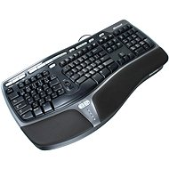 Microsoft Natural Ergonomic Keyboard 4000 CZ/SK, černá - Klávesnice