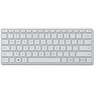 Microsoft Designer Compact Keyboard, Glacier - CZ/SK - Klávesnice