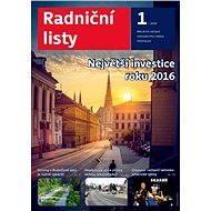 Radniční listy (Olomouc) - 1/2016 - Elektronický časopis