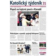 Katolický týdeník - Electronic Newspaper