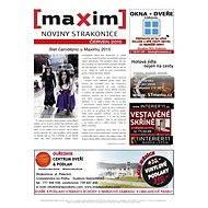 MAXIM NOVINY STRAKONICE - 6/2015 - Elektronický časopis