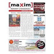 MAXIM NOVINY STRAKONICE - 7/2013 - Elektronický časopis