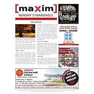 MAXIM NOVINY STRAKONICE - 10/2015 - Elektronický časopis