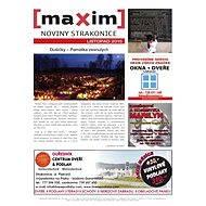 MAXIM NOVINY STRAKONICE - 11/2015 - Elektronický časopis