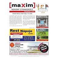 MAXIM NOVINY STRAKONICE - 12/2015 - Elektronický časopis