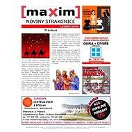 MAXIM NOVINY STRAKONICE - 1/2016 - Elektronický časopis