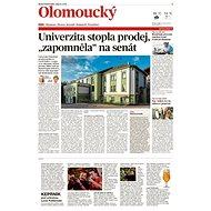 Olomoucký kraj (MF DNES, 27.09.2019) - Elektronické noviny