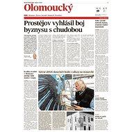 Olomoucký kraj (MF DNES, 09.10.2019) - Elektronické noviny