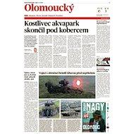Olomoucký kraj (MF DNES, 11.10.2019) - Elektronické noviny