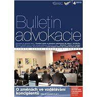 Bulletin advokacie - 4/2015 - Elektronický časopis
