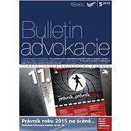Bulletin advokacie - 5/2015 - Elektronický časopis