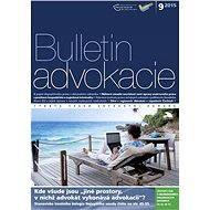 Bulletin advokacie - 9/2015 - Elektronický časopis
