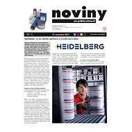 Saphira - spotřební materiály, Heidelberg (Noviny pre grafický priemysel, 11/2015) - Příloha