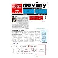 Reklama Polygraf 2016 (Noviny pre grafický priemysel, 4/2016) - Příloha