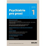 Psychiatrie pro praxi - 1/2019 - Elektronický časopis