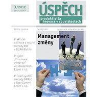 Úspěch - Produktivita a inovace v souvislostech - 3/2012 - Elektronický časopis