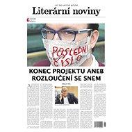 Literární noviny - vydávání titulu bylo ukončeno - Elektronický časopis