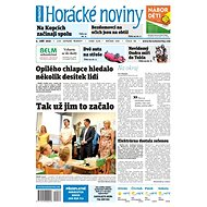 Horácké noviny - Středa 4.9.2019 č. 066 - Elektronické noviny