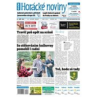 Horácké noviny - Pátek 27.9.2019 č. 073 - Elektronické noviny