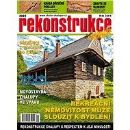 Rekonstrukce chalup a chat - Elektronický časopis