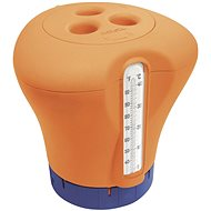 MARIMEX Float for chlorine with thermometer - orange - Pool floating dispenser