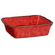Mäser  Zapékací miska hranatá 23,5x23,5x6,5 cm, červená BEL TEMPO
