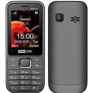 Maxcom MM142 šedá - Mobilní telefon