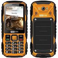 Maxcom MM920 žlutá - Mobilní telefon