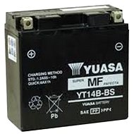 YUASA YT14B-BS, 12V,  12Ah - Motobaterie