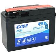 EXIDE ETR4A-BS, 12V, 2.3Ah, 35A - Motobaterie