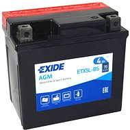 EXIDE ETX5L-BS, 12V, 4Ah, 70A - Motorcycle batteries