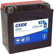 EXIDE ETX14-BS, 12V, 12Ah, 200A - Motobaterie