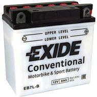 EXIDE BIKE Conventional 8Ah, 12V, YB7L-B / 12N7-3B - Motorcycle batteries