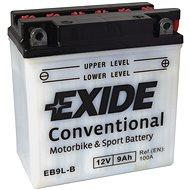 EXIDE BIKE Conventional 9Ah, 12V, YB9L-B / 12N9-3B - Motobaterie