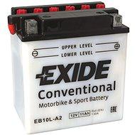 EXIDE BIKE Conventional 11Ah, 12V, YB10L-A2 - Motobaterie