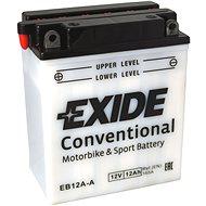 Motobaterie EXIDE BIKE Conventional 12Ah, 12V, YB12A-A / 12N12A-4A-1 - Motobaterie