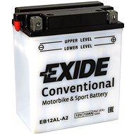 EXIDE BIKE Conventional 12Ah, 12V, YB12AL-A2 - Motorcycle batteries
