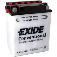 EXIDE BIKE Conventional 14Ah, 12V, YB14L-A2 / 12N14-3A - Motobaterie