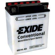 EXIDE BIKE Conventional 14Ah, 12V, YB14L-B2 - Motobaterie