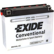EXIDE BIKE Conventional 16Ah, 12V, YB16AL-A2 - Motobaterie