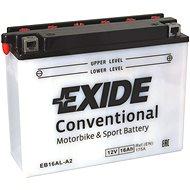 EXIDE BIKE Conventional 16Ah, 12V, YB16AL-A2
