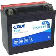 EXIDE ETX20HL-BS, 12V, 18Ah, 270A - Motobaterie