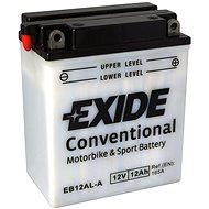 EXIDE BIKE Conventional 12Ah, 12V, YB12AL-A - Motorcycle batteries