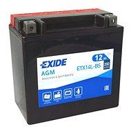 EXIDE ETX14L-BS, 12V, 12Ah - Motobaterie