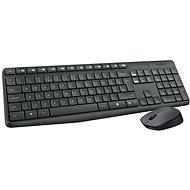 Logitech Wireless Combo MK235 DE - Set klávesnice a myši