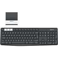 Logitech Wireless Keyboard K375s DE - Keyboard