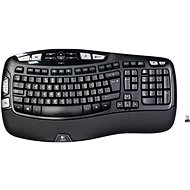 Logitech Wireless Keyboard K350 UK - Klávesnice