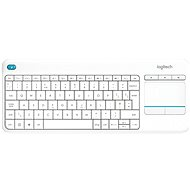 Logitech Wireless Touch KBD K400 Plus White DE - Klávesnice