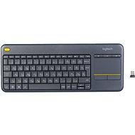 Logitech Wireless Touch Keyboard K400 Plus Magyar - Klávesnice